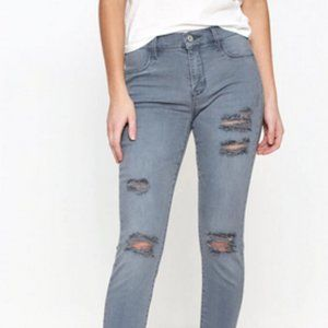 PacSun Slate Gray Perfect Fit Jeggings Size 24